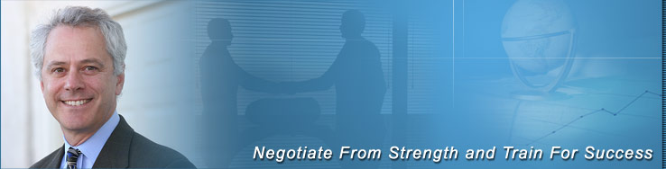 Negotiate From Strength and Train For Success